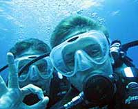 Scuba diving safety skill in Koh Samui