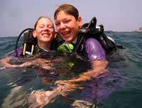 Disciver Scuba Diving in Koh Samui