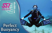 SSI Perfect Buoyancy specialty course samui