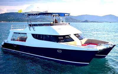 diving catamaran samui