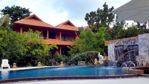 PS Thana swimming pool Koh Samui