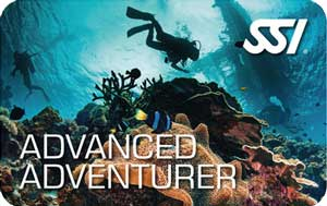 SSI advanced adventurer diving course samui